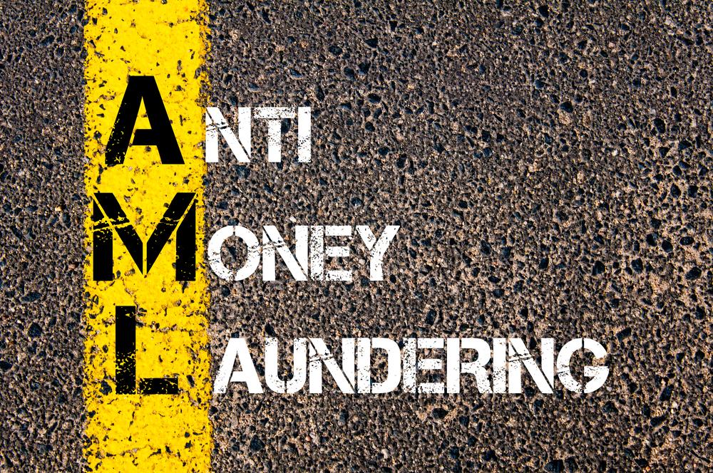 Anti-money laundering banner