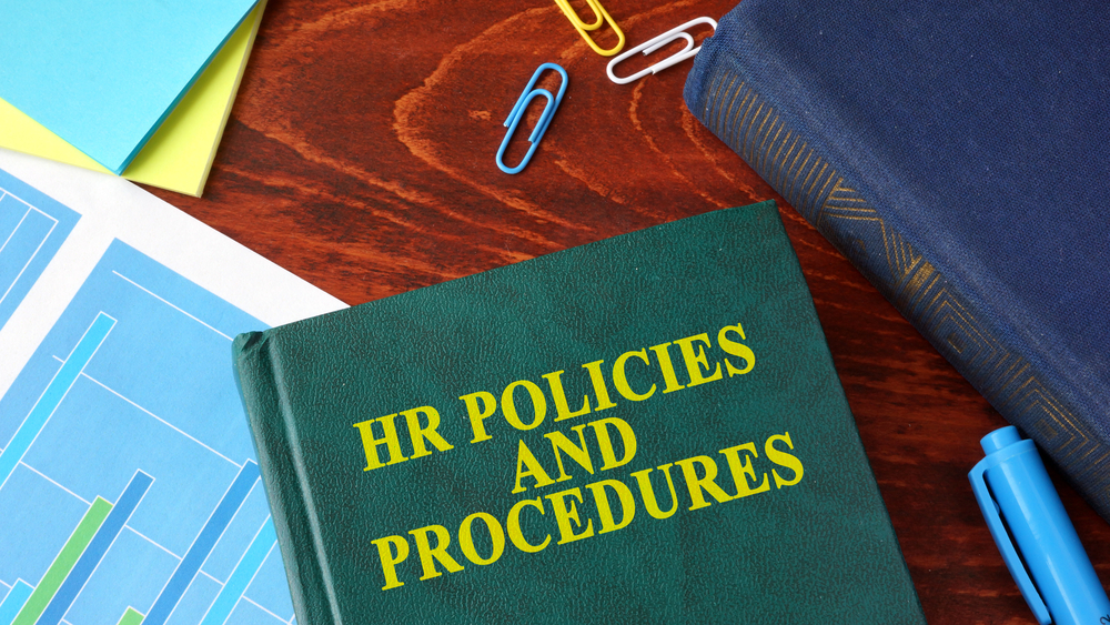 HR Polices and Procedures book
