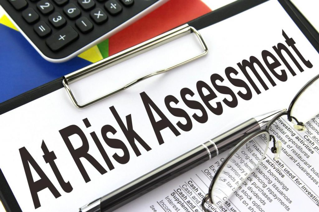 Risk assessment clip board
