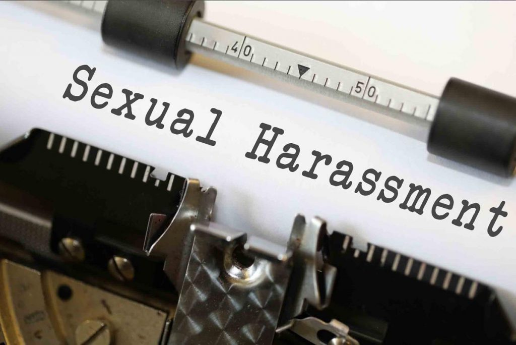 Sexual harassment bribery laws
