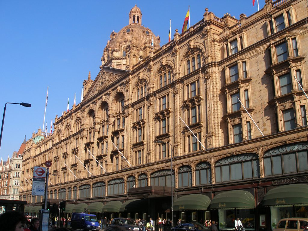 Harrods, Central London
