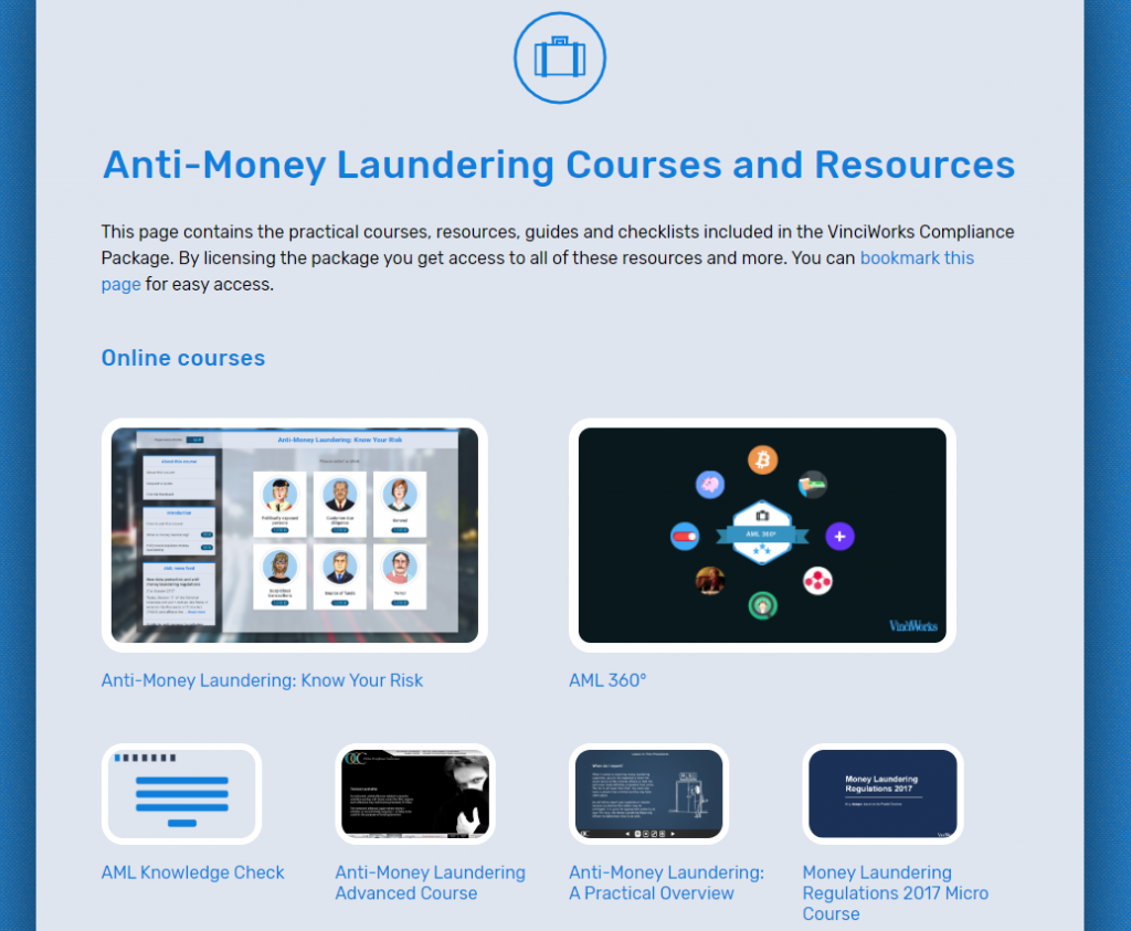 AML resource page