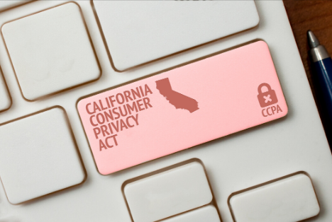 California Consumer Privacy Act button