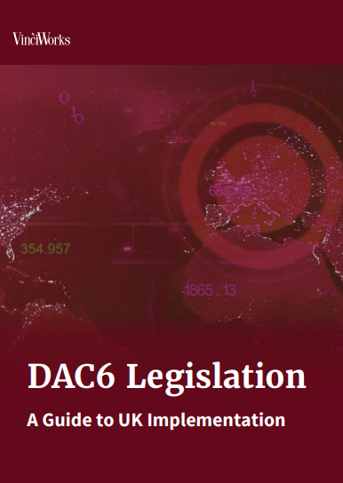 Cover of the DAC6 guide to UK implementation
