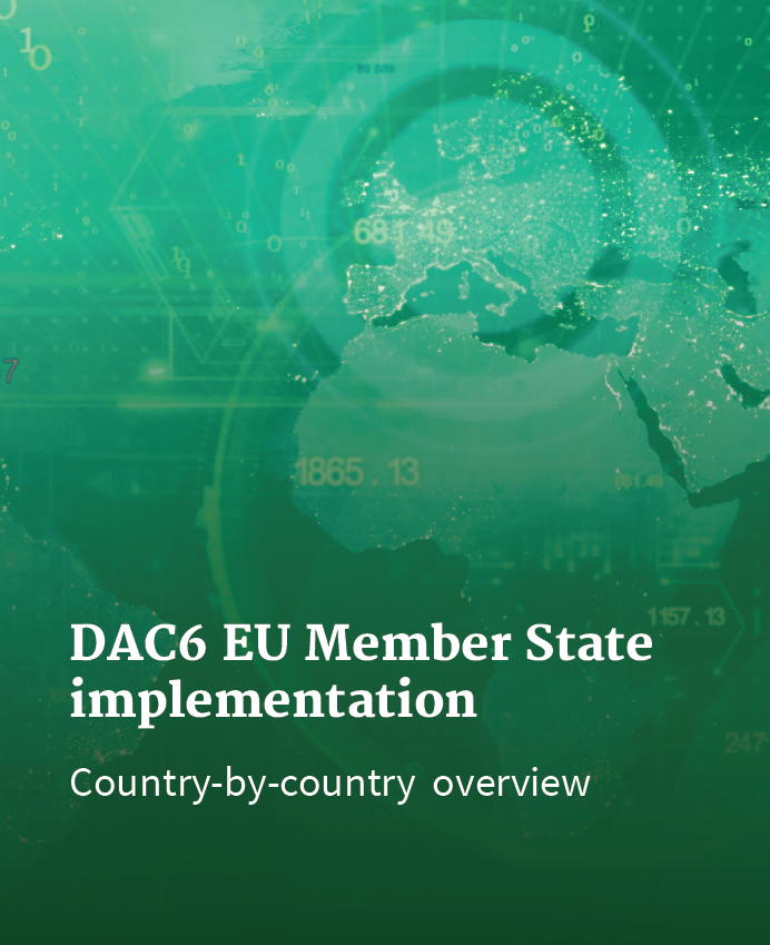 DAC6 guide to country-by-country implementation