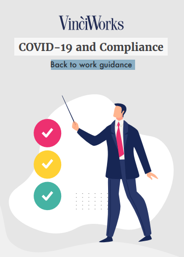 Front cover of COVID-19 back-to-work guide