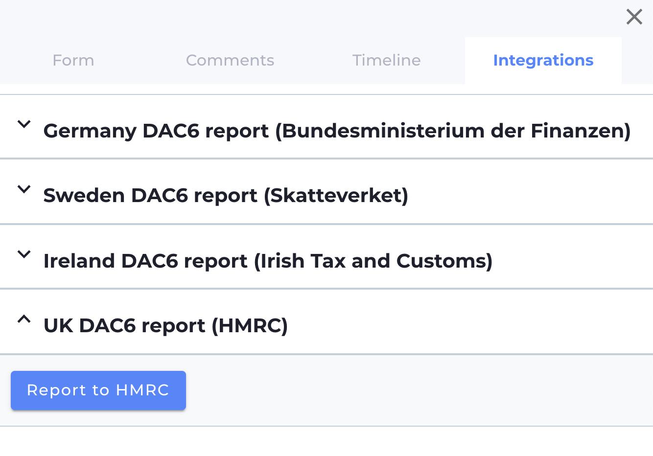Reporting schemas
